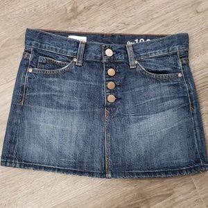 GAP 1969 Denim Mini Skirt